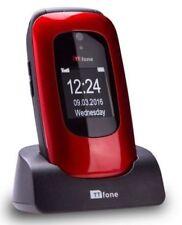 TTfone Lunar Tt750 Big Button Simple Easy Clamshell Unlocked Flip Mobile Phone