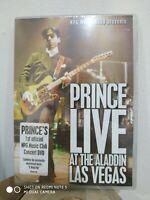 PRINCE - LIVE AT THE ALADDIN, LAS VEGAS - DVD NUOVO SIGILLATO