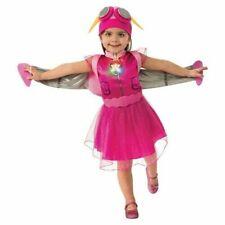 Nickelodeon Toddler Paw Patrol Skye Costume Dress Light Up Badge 3T-4T NWT Open