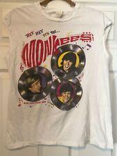 The Monkees 20th Anniversary World Tour RARE sleeveless shirt '86