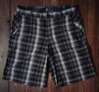 Lululemon Men's Shorts Plaid Size 34