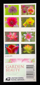FOREVER STAMPS GARDEN BEAUTY 100 COUNT (5 BOOKS TOTAL) 100% AUTHENTIC 2020