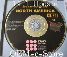 2009 2010 TOYOTA PRIUS TUNDRA LEXUS LS430 SCION Tc NAVIGATION DVD U36 VER. 11.1