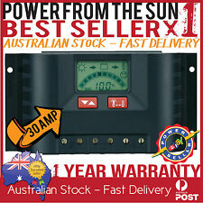 SUNTRANS SOLAR CONTROLLER /  REGULATOR 30A LCD DISPLAY CARAVAN - SAME AS STECA