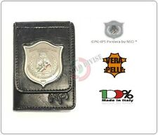 Portafoglio con Placca Metallo GPG IPS Guardia Particolare Giurata PANTERA NEW