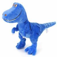 Zooawa Bed Time Stuffed Animal Toys,Soft Plush T-Rex Tyrannosaurus Dinosaur Blue