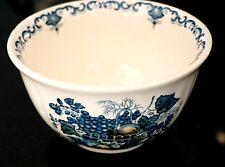 Masons Fruit Basket Blue Sugar Bowl