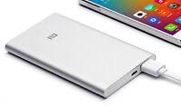 Bateria Externa Xiaomi (Original) Mi Power Bank 5000mAh, 5V/2.1A, USB, Ultrafina