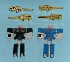 original G1 Transformers cassette REWIND + EJECT 100% COMPLETE lot