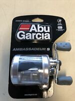 Abu Garcia 6500 Ambassadeur S Round Baitcast Fishing Reel AMBS-6500 NEW SEALED