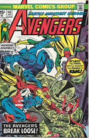 The Avengers Comic Book #143, Marvel Comics Group 1976 VERY FINE+