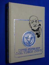 USS Carl Vinson CVN-70 1985-1987 Volume IV 4 Chronicles Hardcover Navy History
