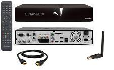 Tiviar Alpha Plus HD WLAN E2 Linux Receiver mit 2x Sat Tunern + 1x Hybrid PVR