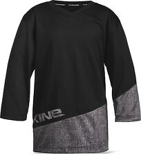 Dakine VECTRA Boys Youth  High V-Neck Cycling Jersey Medium Black Grey