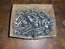 25 X SCHRAUBE M14 X 1,5 X 75 MIT SPLINTLOCH 8,8 - VERZINKT DIN 960 - KAMAX