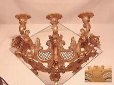 3 candle wall sconce by Syroco of Syracuse