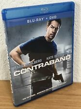 CONTRABAND (Blu-Ray/DVD, 2012) 2-Disc Set FLAWLESS, UNUSED CONDITION