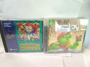 FRANKLIN LEARNS MATH & Bailey Book House PC Computer Game FUN Learning Education