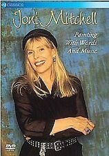 JONI MITCHELL - PAINTING WITH WORDS AND MUSIC - REGION 0 DVD.