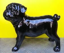 Sculpture décorative en résine Bulldog Carlin 22 cm neuf