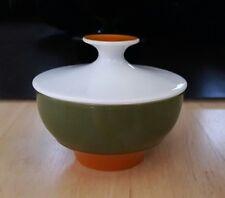 RETRO Thomas Rotunda grün orange Zuckerdose 8cm