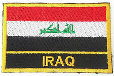 Iraq Embroidered Sew or Iron on Patch Badge