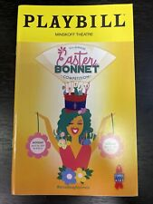 EASTER BONNET Broadway 2017 Playbill BEN PLATT Andy Karl JOHN MULANEY Nick Kroll