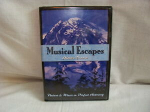Musical Escapes-Alaska Encore (DVD, 2002) Nature & Music in Perfect Harmony NEW
