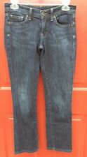 CITIZENS OF HUMANITY AVA Dark Blue Jeans Straight Leg Stretch Womens Size 26 Low