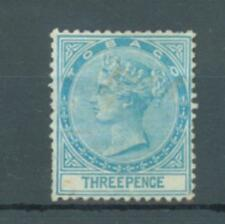 Tobago 1879 sg.2 used some faults