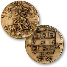 Lewis and Clark National Park & Fort Clatsop Monument Medal Challenge Coin