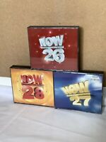 Now That's What I Call Music 26 27 28 Fat Box Double CD Bundle