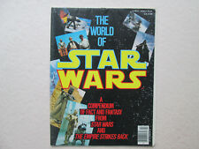 THE WORLD OF STAR WARS 1981 a Compendium of Fact and Fantasy MAGAZINE