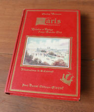 Paris Histoire et visage Brisson illustré Conrad cartonnage