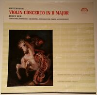 Beethoven Violin Concerto Josef Suk Franz Konwitschny Supraphon SUA 10445