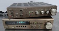 Vintage HiFi estéreo amp-amplifier Audion micro Component a 700 y sintonizador t 700