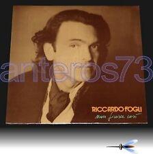 """RICCARDO FOGLI """"NON FINISCE COSI'"""" LP SIGILLATO - POOH"""
