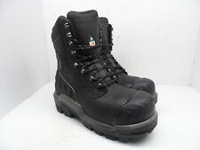 Dunlop Men's 8'' Composite Toe Composite Plate WP Boot DLNA16101 Black 11M