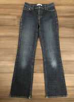 LEVI'S Women's 512 Bootcut Perfectly Slimming Cotton Blend Blue Jeans-Size 6M