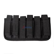 Six Pack Magazine Pouch Holder For 380 and 32 Single Stacked 9 Round Mags