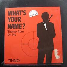 "Zinno - What's Your Name 12"" 45 VG+ RR 12007 Germany 1st Red Vinyl Record"