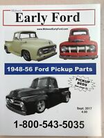 1953 1954 1955 1956 Early Ford Pickup Truck Parts Catalog.