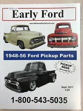 1948-1956 Ford Pickup Truck Parts Catalog.  Fenders, Beds, Bumpers, Rubber