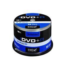 Intenso DVD+R 16x Geschwindigkeit 4,7GB DVD-Rohlinge 4111155 NEU (50er Spindel)