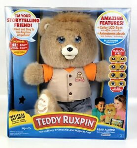 Teddy Ruxpin 2017 Animated Storytelling Bear Bluetooth LCD Eyes NEW In Box NIB