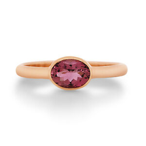 NEW - 9ct Rose Gold Pink Tourmaline Ring - $599.00