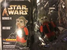 Medicom Tomy Kubrick Star Wars Series 4 NIEN NUMB FIGURE IN BOX BUT OPENED