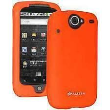 AMZER Silicone Skin Jelly Case for Google Nexus One PB99100 - Orange