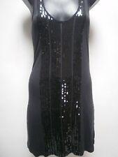 Ladies Black Sequins Dress 8/10