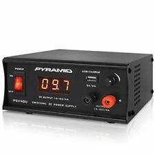 Universal Compact Bench Power Supply 4 Amp Regulated Benchtop Ac Dc Convert